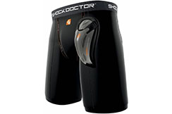 Short y Guardia de la ingle, Core Compression - SD221, Shock Doctor