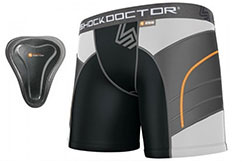 Short Compression Femme & Coquille - SD258, Shock Doctor
