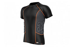 Rashguard Compression - Short sleeves 3 protections, Shock Doctor