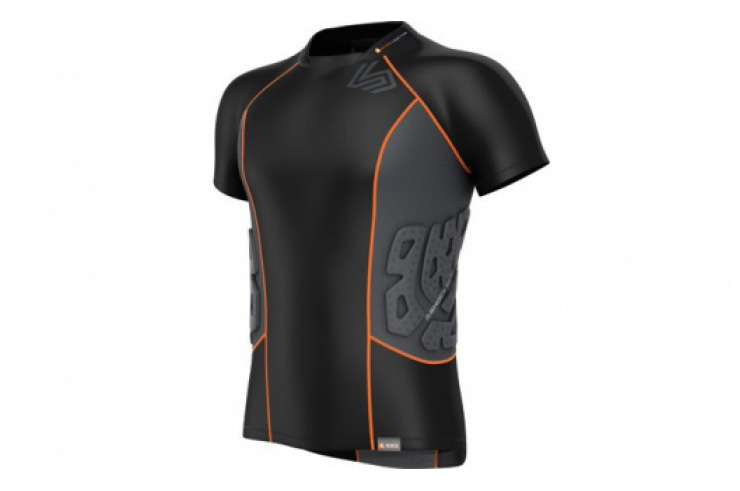 Rashguard de Compression 3 Protections, Shock Doctor