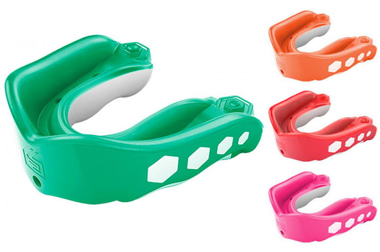 Mouthguard Gel Max Flavor (Pack of 6), Shock Doctor