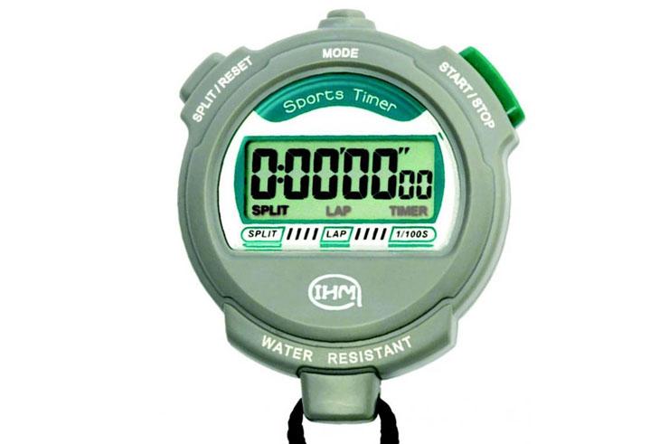 Chronomètre digital - Étanche, IHM