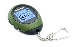 Mini GPS, IHM