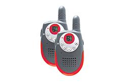 Par de walkie-talkies - 500m de alcance, IHM