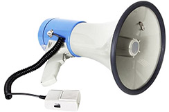 Megaphone 25W, with mp3 player SD and USB ports - IHM