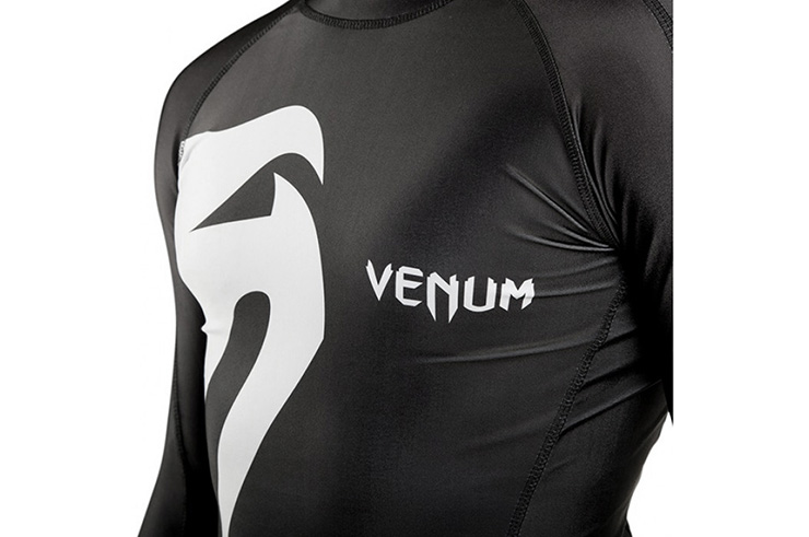 Camiseta Mangas Largas Rashguard, Venum 'Giant'