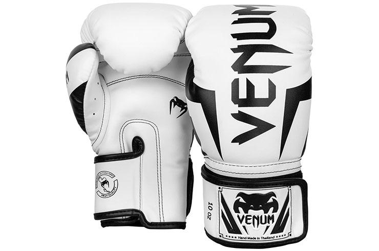 Guantes de Boxeo Venum Elite – Cuero Skintex