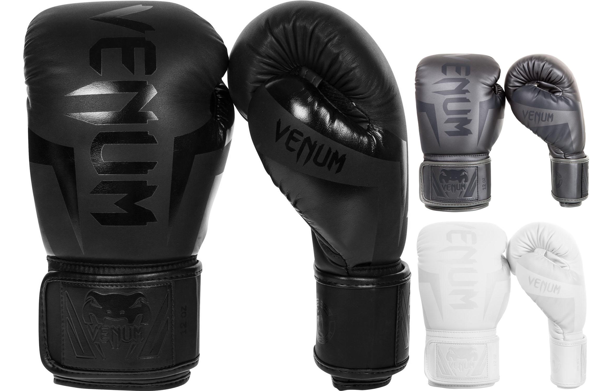 e0499d677 Guantes de Boxeo, Cuero Skintex - Elite, Venum - DragonSports.eu