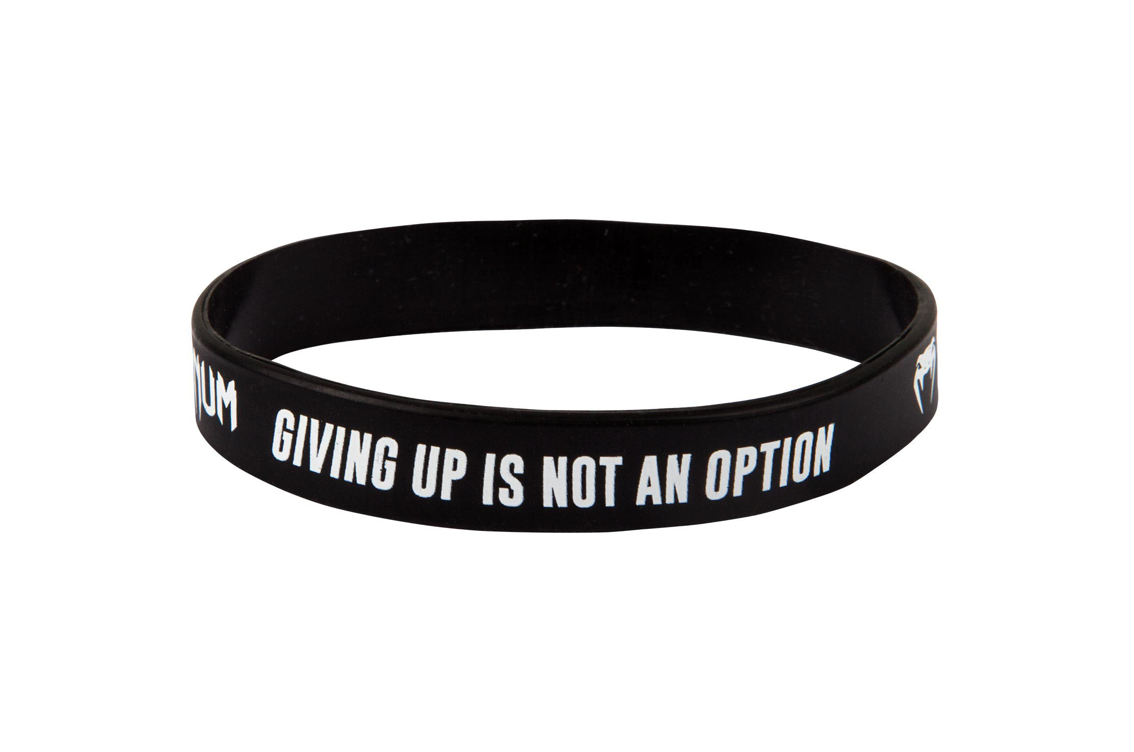 "Bracelet Silicone ""Giving up - Not an option"", Venum"