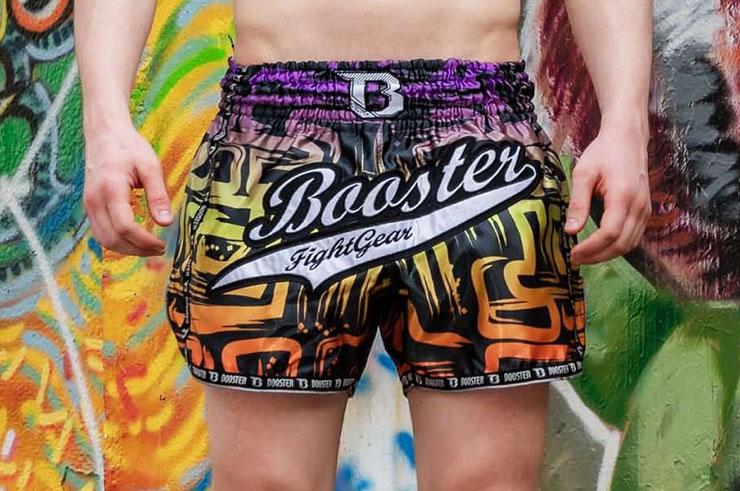 Pantalones cortos de boxeo - Labyrinth TBT, Booster