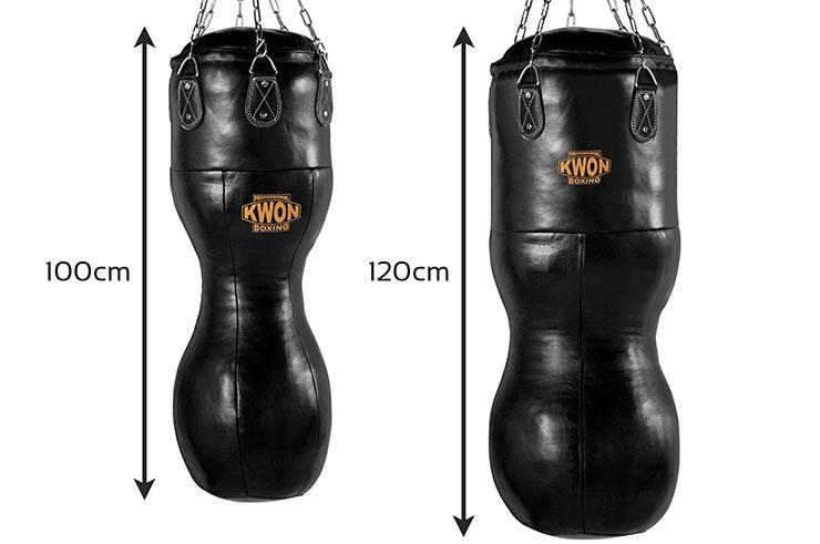 Leather Punching Bag - Hook & Jab, Kwon
