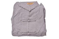 [Destock] Tai Chi Top, Viscose+Cotton - 145cm - Grey