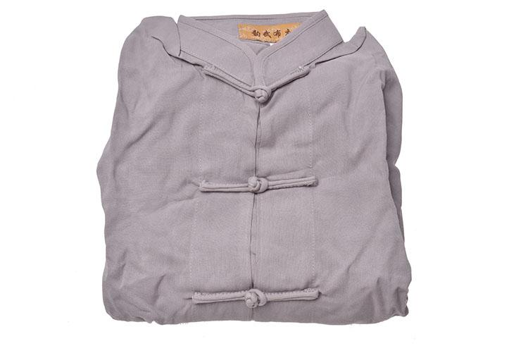[Destock] Haut Tai Chi, Viscose+Coton - 145cm - Gris