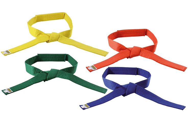 Ceinture couleur unie, Velcro - enfants, Kwon