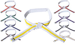 Cinturón de velcro multicolor - Niños, Kwon