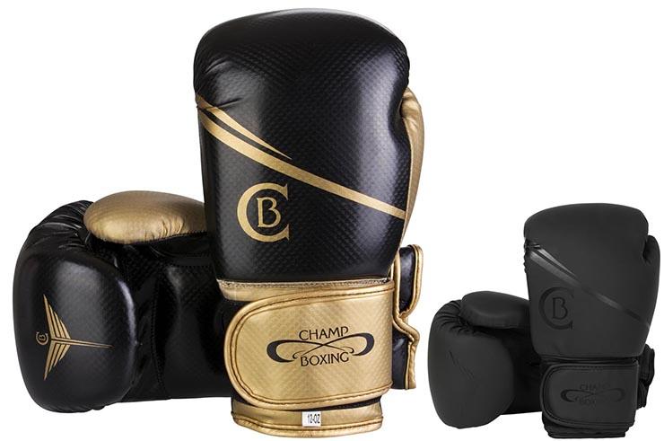 Multiboxing Gloves, Training - Carbon, Champboxing