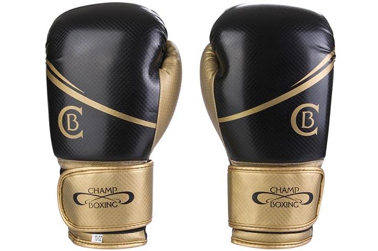 Gants Multiboxes, Entraînement - Carbone, Champboxing