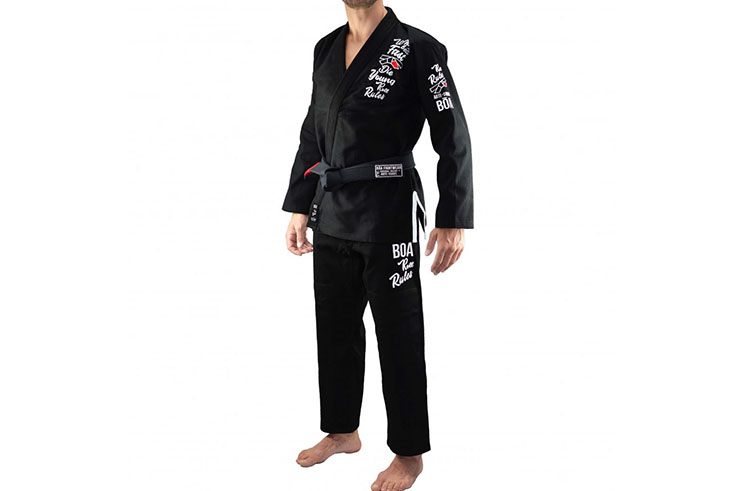 Brasilian Ju Jitsu Kimono - Bõa Roll Rules, Bõa