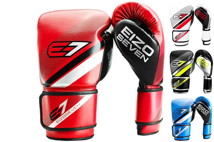 Gants d'Entraînement, Édition Blanche - E7 First, Eizo Boxing
