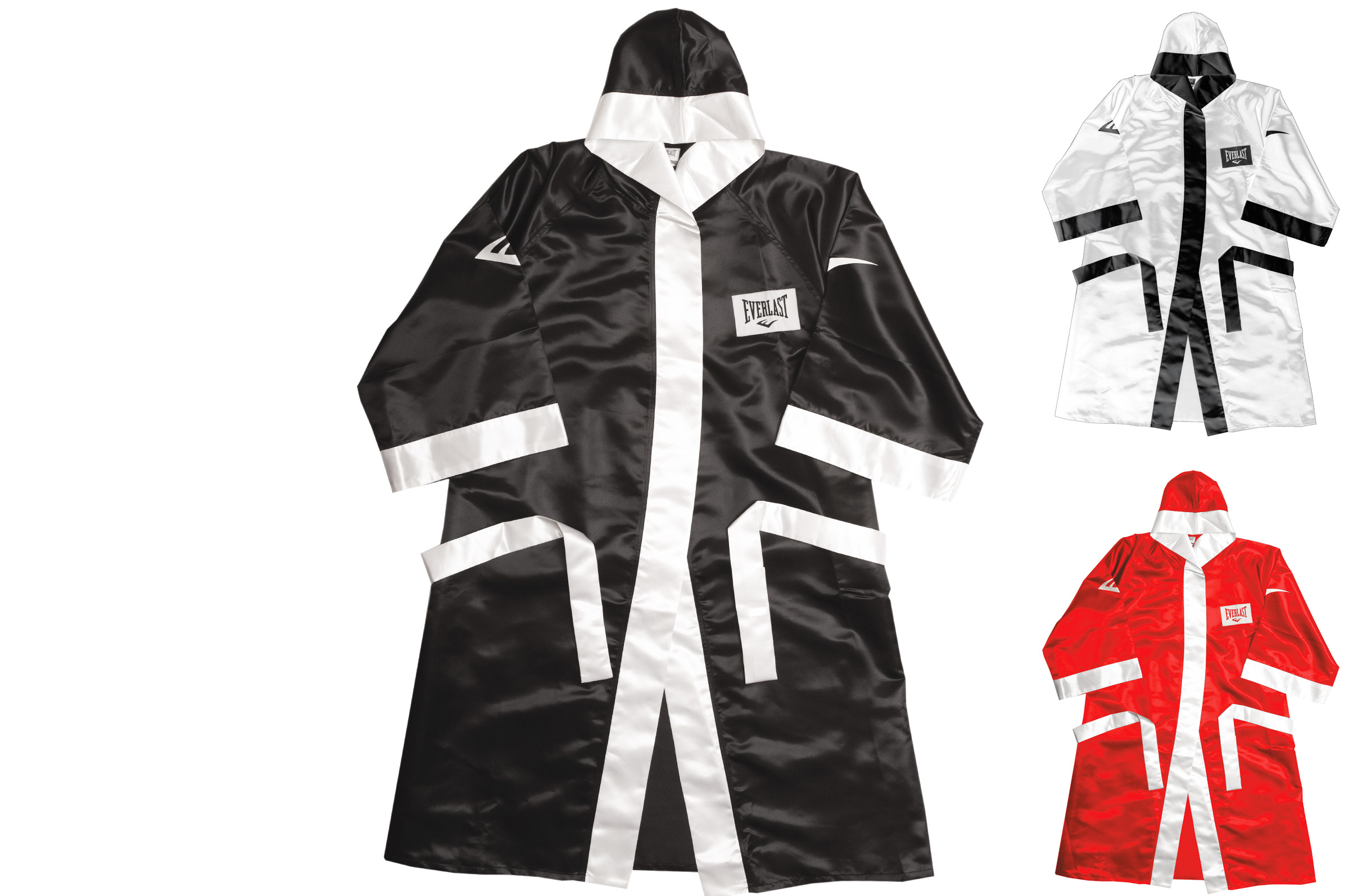 Full Lenght Boxing Robe with Hood, Everlast