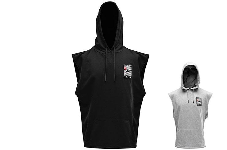 Hooded Sweatshirt, Sleeveless - Nara, Everlast