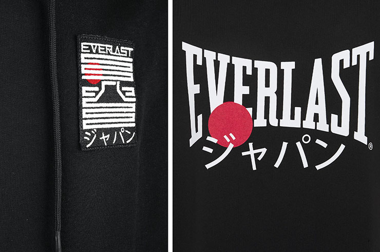 Sweat-shirt à capuche, sans manches - Nara, Everlast