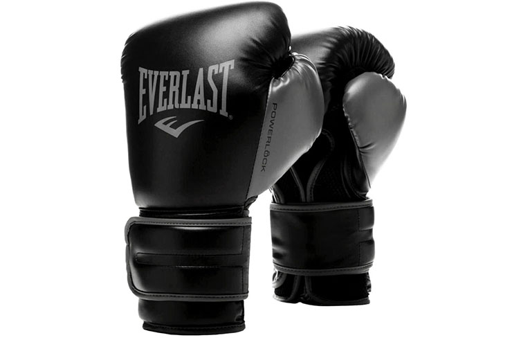 Gants de Boxe, Entraînement et Sparring - PowerLock, Everlast
