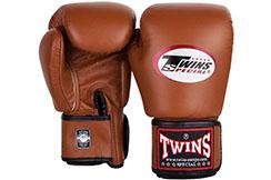 Guantes de Boxeo de Cuero Retro, Twins