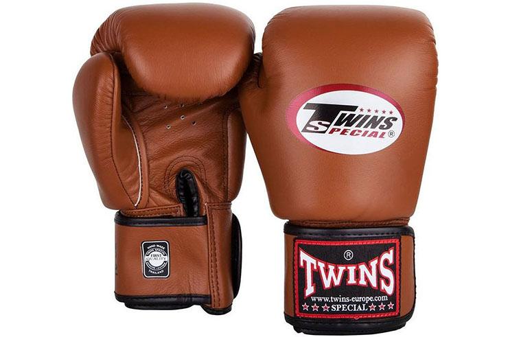 Gants de Boxe en Cuir Retro, Twins