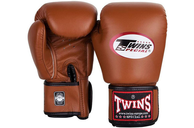 Leather Boxing Gloves Retro, Twins