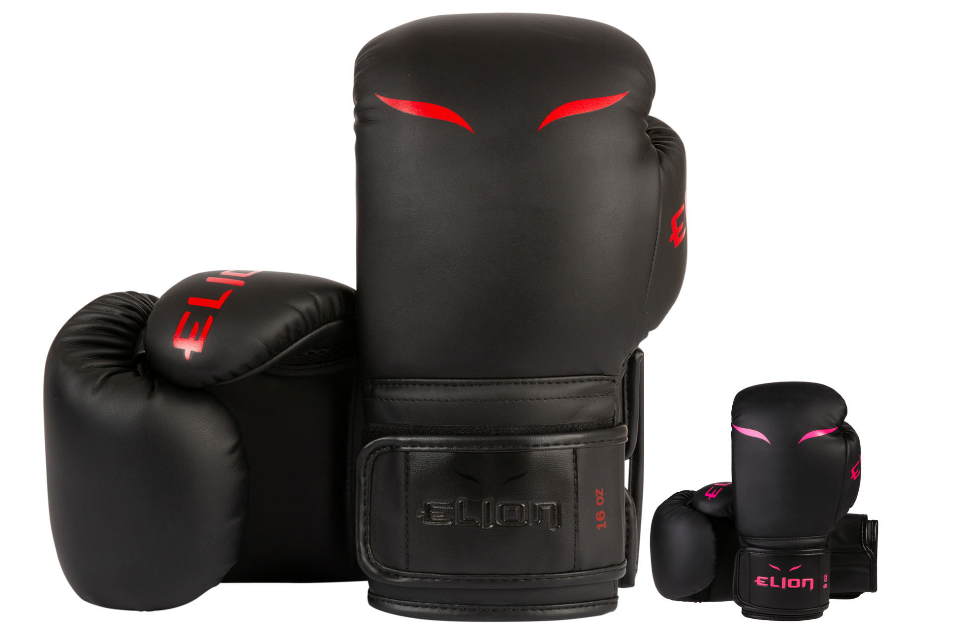 gants de boxe entraiment black red elion. Black Bedroom Furniture Sets. Home Design Ideas