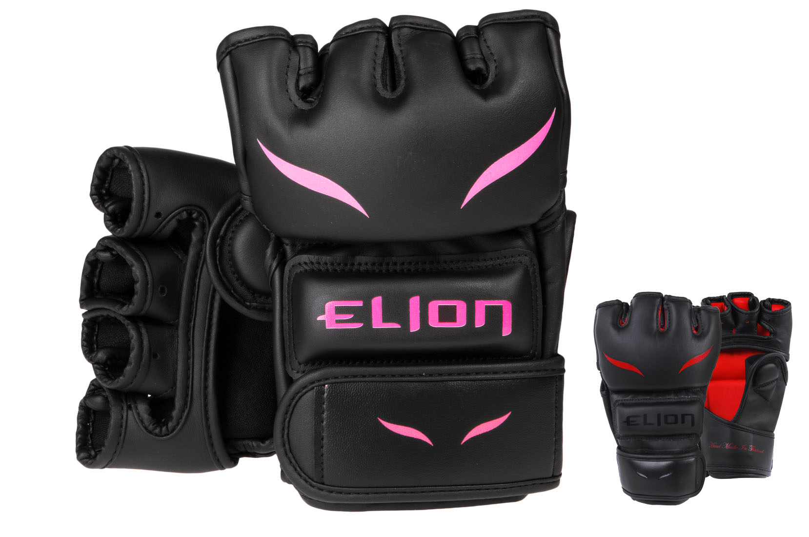 "Gants MMA ""Black/Red"", Elion"