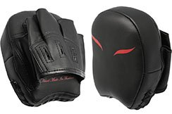 Pair of Mini Focus Mitts - Black/Red, Elion