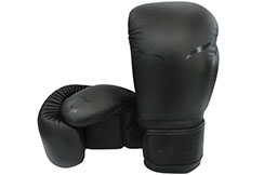 "Leather Training Boxing Gloves ""Mat Black"", Elion"