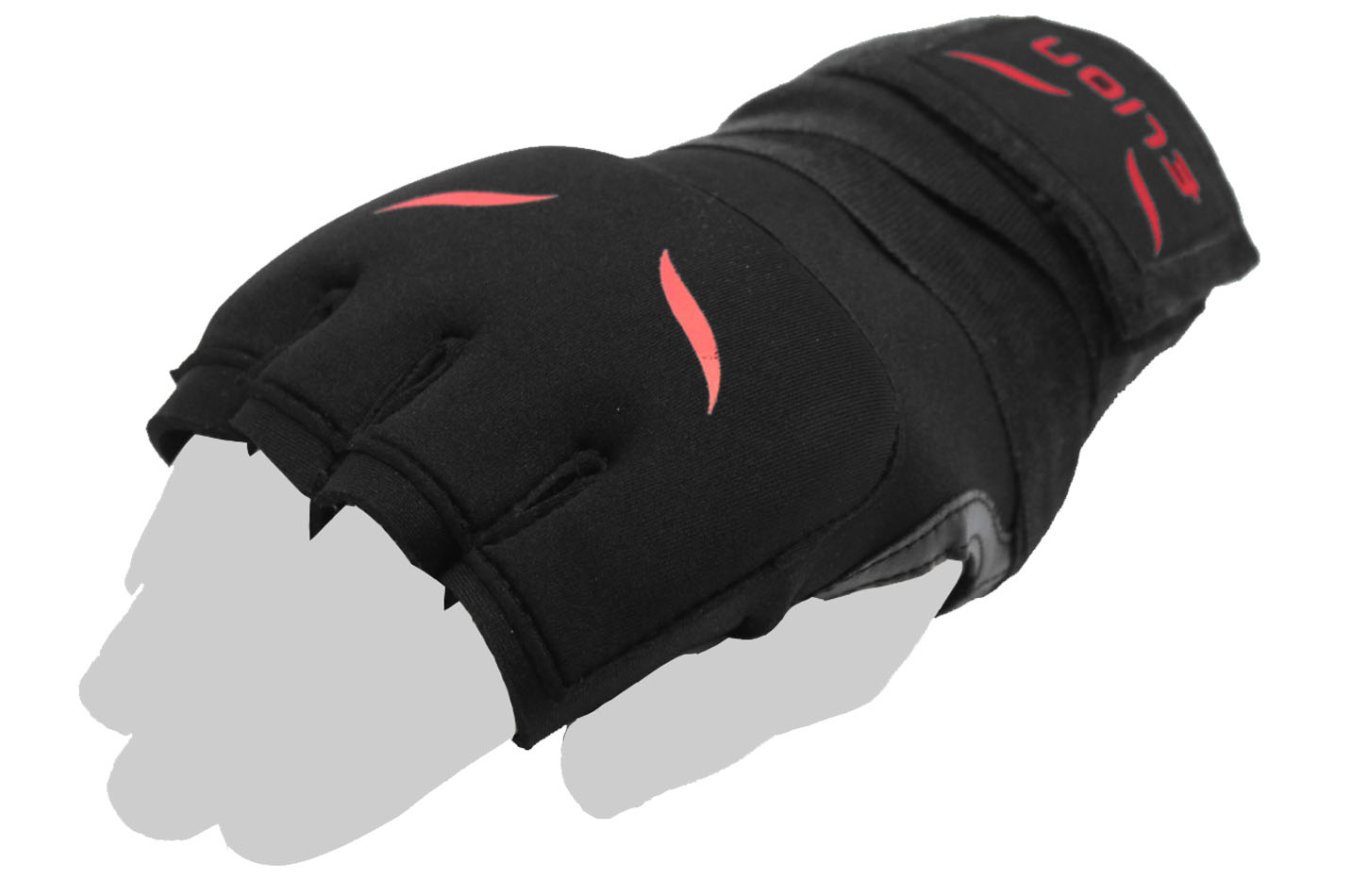 "Sous Gants Gel ""Black/Red"", Elion"