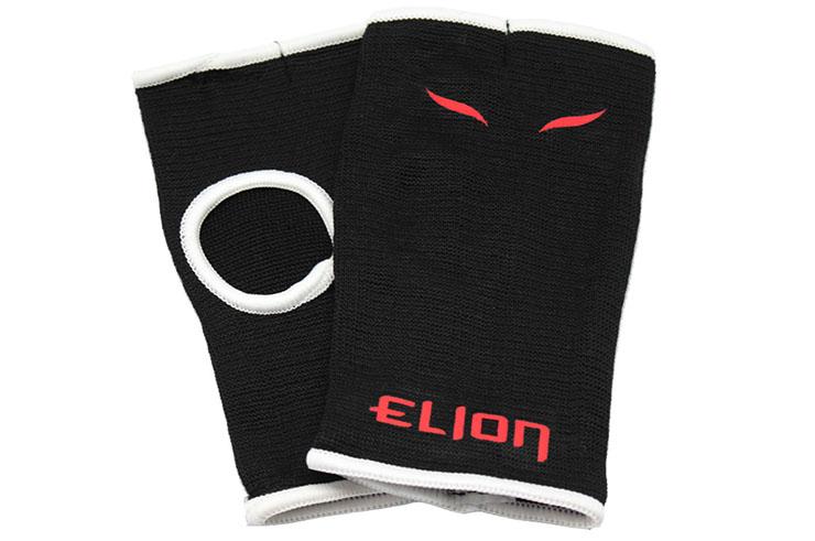 Mitten Under-Gloves, 2 Models Black/Red, Elion
