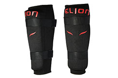 Protector Espinillas Algodón - Velcro Negro, Elion