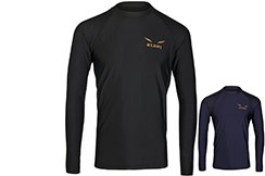 Rashguard, Gold logo - long sleeves, Elion