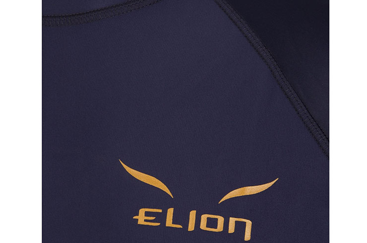 Rashguard, Gold logo - long sleeves, Elion