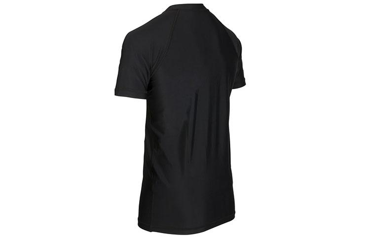 Rashguard, Gold Logo - short sleeves, Elion