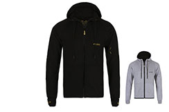Zipped Sweatshirt with hood - Shadow, Elion