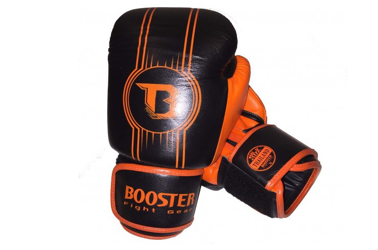 Gants de Boxe Cuir Véritable ''BGL 1 V6'', Booster