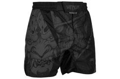 Pantalones cortos de MMA, Negro/Negro - Devil, Venum
