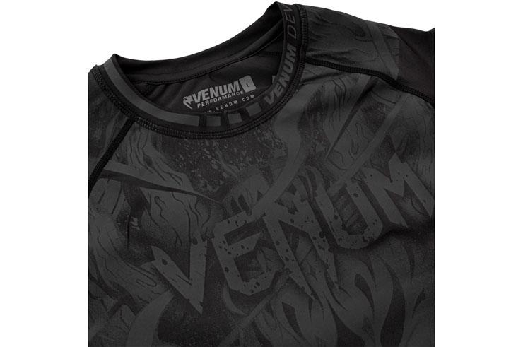 Rashguard Short Sleeves, Size S - Devil, Venum