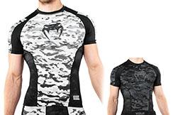 Camiseta de compresión manga corta - Venum Defender, Venum