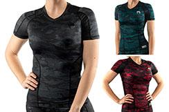 Rashguard short sleeves women - Venum Defender, Venum