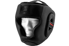 Headguard, Child - MINI BLACK, Metal Boxe