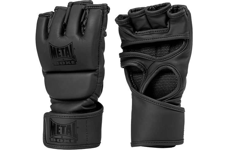 Guantes MMA sin pulgares, GLORIOUS - MB536N, Metal Boxe