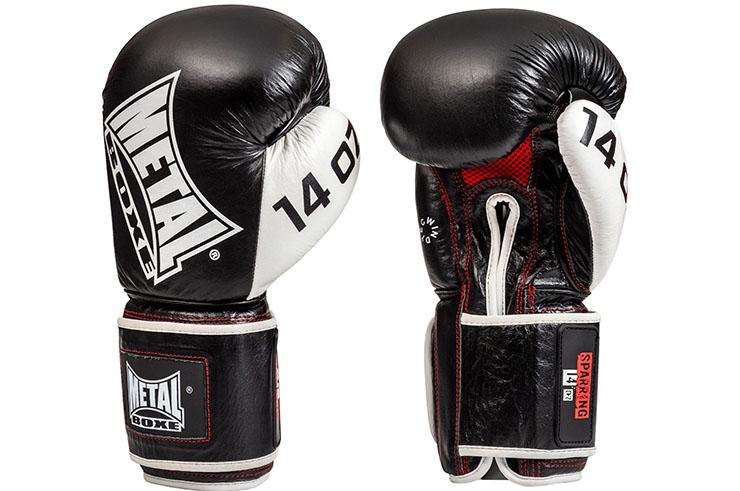 Gants de sparring, Cuir - MB011, Metal Boxe