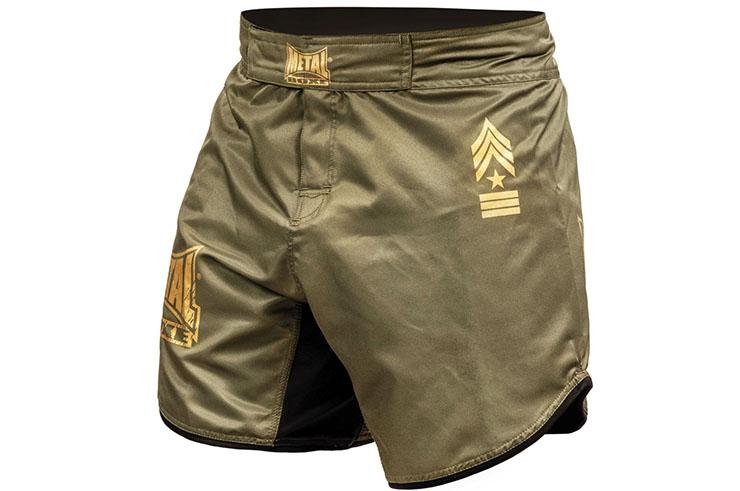 MMA shorts short cut, Military - MB269M, Metal Boxe